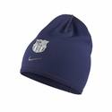 Nike FC Barcelona Training Crested Beanie - Loyal Blue