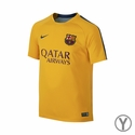 Nike FC Barcelona Youth Flash SS PM Training Top 2