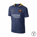 Nike FC Barcelona Youth Flash SS Training Top