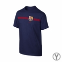 Nike FC Barcelona Youth Team Tee - Loyal Blue