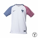 Youth Nike France 2016/2017 Stadium Away Jersey
