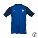 Youth Nike France 2016/2017 Stadium Home Jersey