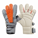 Nike GK Confidence Goalkeeper Gloves - White/Total Orange