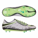 Nike HyperVenom Phinish FG Soccer Cleats - Pure Platinum