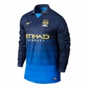 Nike Manchester City 2014/2015 LS Away Stadium Jersey