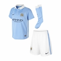 Nike Manchester City 2015/2016 Kids Home Kit