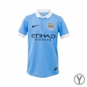 Youth Nike Manchester City 2015/2016 Stadium Home Jersey