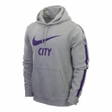 Nike Manchester City Core Hoody - DK Grey