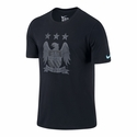 Nike Manchester City Crest Tee - Black