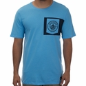 Nike Manchester City Crest Tee - University Blue