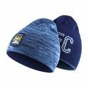 Nike Manchester City Reversible Beanie - Field Blue