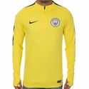 Nike Manchester City Squad Drill Top - Opti Yellow