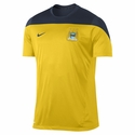 Nike Manchester City Squad SS Training Jersey - Tour Yellow