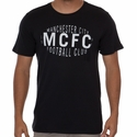 Nike Manchester City Squad Tee - Black