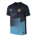 Nike Manchester City SS PM Training Top 1 - Dark Obsidian