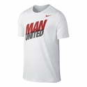 Nike Manchester United Core Type Tee - White
