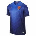 Nike Netherlands 2014/2015 Away Stadium Jersey