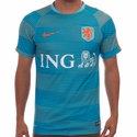 Nike Netherlands PM Training Top 2 - Clearwater Blue