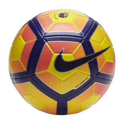 Nike Ordem 4 Premier League Soccer Ball - Yellow - Click to enlarge