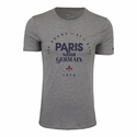 Nike Paris Saint-Germain Core Type Tee - DK Grey Heather