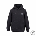 Nike Paris Saint-Germain Youth Core Hoody - Black Heather