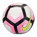 Nike Pitch Soccer Ball - White/Pink