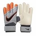 Nike Spyne Pro Goalkeeper Gloves - Grey/Total Orange