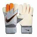 Nike Vapor Grip 3 Goalkeeper Gloves - Grey/Total Orange