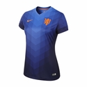 Nike Netherlands 2014/2015 Women's Away Stadium Jersey