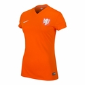 Nike Netherlands 2014/2015 Women's Home Stadium Jersey
