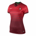 Nike Women's Portugal 2014/2015 Home Stadium Jersey