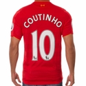 Philippe Coutinho Liverpool FC 2016/17 Home Jersey