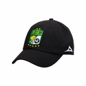Pirma Leon Adjustable Crest Cap - Black