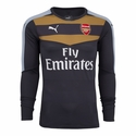 Puma Arsenal 2015/2016 Goalkeeper Jersey - Ebony