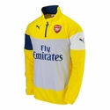 Puma Arsenal Fleece Top - Yellow