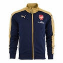 Puma Arsenal Stadium Jacket - Black Iris