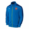 Puma Arsenal T7 Anthem Jacket - Methyl Blue