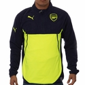 Puma Arsenal Training Fleece - Peacoat/Safety Yellow