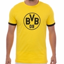 Puma Borussia Dortmund Badge Tee - Yellow