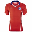 Puma Chile 2014 World Cup Home Jersey