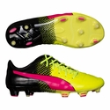 Puma evoPOWER 1.3 Tricks FG Soccer Cleats - Pink Glow