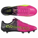 Puma evoSPEED 1.5 Tricks FG Soccer Cleats - Pink Glow