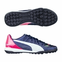 Puma evoPower 3.2 TT Turf Soccer Shoes - Peacoat