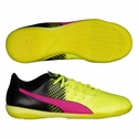 Puma evoPOWER 4.3 Tricks IT Indoor Soccer Shoes - Pink Glow