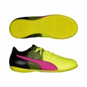 Kids Puma evoPOWER 4.3 Tricks JR Indoor Soccer Shoes - Pink Glow