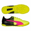 Puma evoSPEED 4.5 Tricks TT Turf Soccer Shoes - Pink Glow