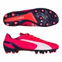 Puma evoSPEED 1.3 FG Firm Ground Soccer Cleats - Bright Plasma