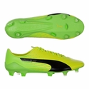 Puma evoSPEED 17 SL-S FG Soccer Cleats - Safety Yellow