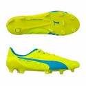 Puma evoSPEED SL FG Soccer Cleats - Safety Yellow