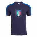 Puma Italy Fanwear Badge Tee - Peacoat Blue
